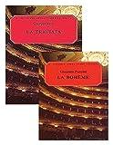La Traviata - Vocal Score / La Boheme - Vocal Score. TWO BOOKS IN ONE