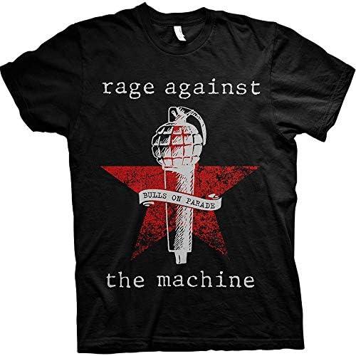 RAGE AGAINST THE MACHINE レイジアゲインストザマシーン - Bulls on Parade Mic/Tシャツ/メンズ 【公式/オフィシャル】