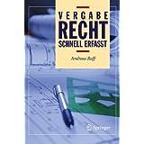 Vergaberecht - Schnell erfasst (German Edition)