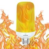 Hudson Lighting fuego efecto de llama de LED foco de luz, e26bombillas llama parpadeante, imitación de luz decorativa Iluminación ambiente clásico llamas luz de foco para Bar/Festival/decoración del hogar