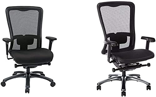 Office Star ProGrid Mesh Back and Padded Coal FreeFlex Seat