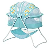 Image of the Dream On Me Karley Bassinet, Aqua Blue