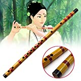 Bolange Bamboo Flute Bansuri Bamboo Musical Instrument For student Learner art school Traditional Wooden