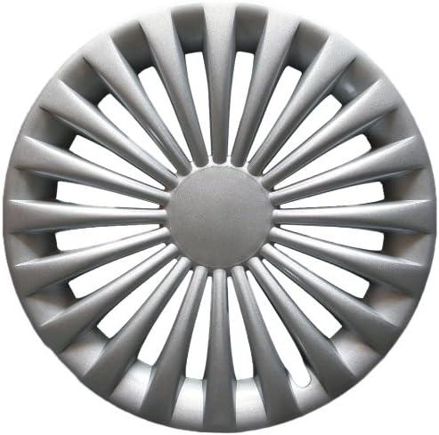 15 Pollici Copri Ruota Set Radzierblenden ARGENTO SMART FORTWO 450 451 ORIGINALE NUOVO