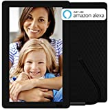 Nixplay Seed 13.3 Inch Digital WiFi Picture Frame with IPS Display, iPhone & Android App, Free 10GB Online Storage and Motion Sensor (Black) - W13B