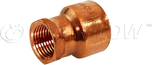 "Copper x Sweat Fitting Female Adapter 3//4/"" x 3//4/"" CxF"