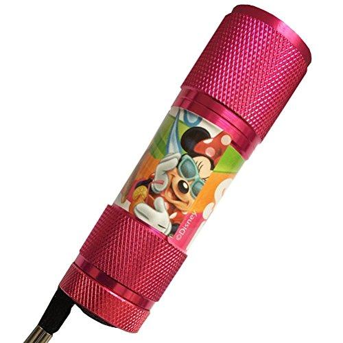 Mini LED flashlight Light Minnie Mouse Pink
