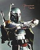 Star Wars Signed Autographed Jeremy Bulloch as Boba Fett 8x10 Photo