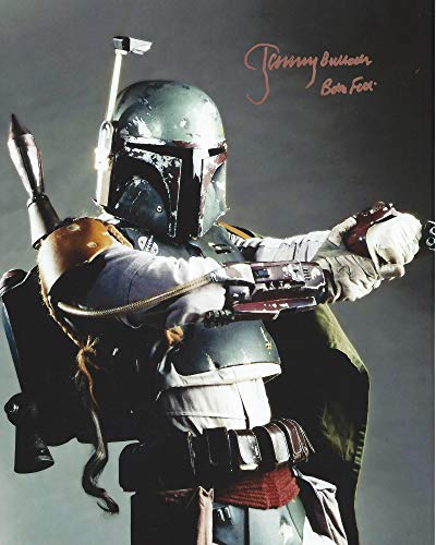 Star Wars Signed Autographed Jeremy Bulloch as Boba Fett 8x10 Photo