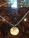 Egypt 25 piastres coin necklace