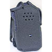 Heavy Duty Ballistic Nylon Case / Holster with Full Metal Quick Disconnect Swivel for Motorola Radio BPR40 Mag One A8