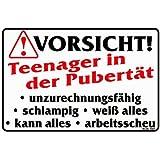 Amazon.de: Hinweisschild - Vorsicht Dachlawinen - 40x25