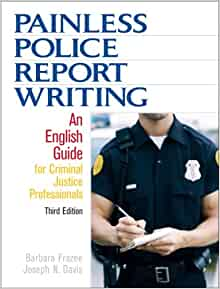 police report writing book 1 student sample – police report on may 31, 2027, at approximately 10:30 pm, officer bismuth responded to a report of a possible homicide at.