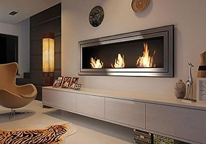 BIOCAMINO CAMINO A BIOETANOLO 1800mm x 650mm: Amazon.it: Casa e cucina