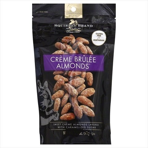 SQUIRREL BRAND NUT ALMOND CREME BRULEE-3.5 OZ -Pack of 6