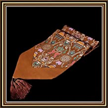 Diamond edge spell PISCES 35 tapestry table runner-like upscale table runner , 4 Christmas Halloween Decoration-YU&XIN