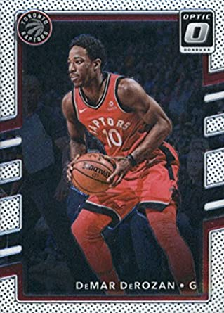 3c733047735 Amazon.com  2017-18 Donruss Optic  136 DeMar DeRozan Toronto Raptors ...