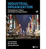 Industrial Organization, Pepall and Richards, Lucy, 0324362617