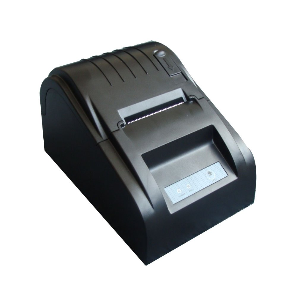 VIPEco Black USB Mini POS Printer 384 Line Thermal Dot Receipt Printer Roll Paper