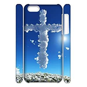 C-EUR Diy 3D Case Jesus Christ Cross for iPhone 5C