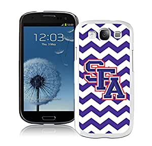 Southland Conference Football Stephen F Austin SFA Lumberjacks 01 White Samsung Galaxy S3 Cellphone Case High Quality and DIY Design