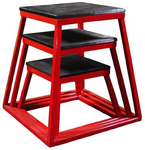 Ader Plyometric Platform Box (30'',36'',42'' Red) by Ader Sports (Image #1)