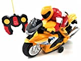 remote motorcycle - O.B Toys&Gift RC Electric Radio Remote Controlled Motorcycle Toy 360 Degree Spins w/Driver, Lights & Sound, Kids Remote Control Motorcycle
