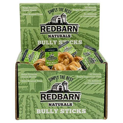 - REDBARN Premium Pet Products Bully Barbells Mini Size (Case of 25)