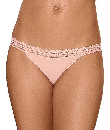 Bikini Lace Poudré Rose vêtement Dkny Cotton Femme Sous Classic Trim xBWqBFXtUw
