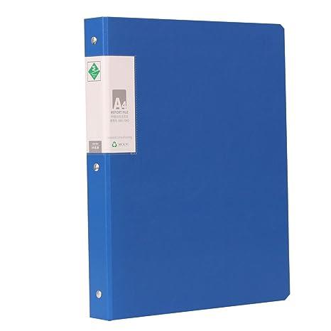xingema – Archivadores de libros A4 Carpeta para guardar papel con 30 lose bolsas de hojas