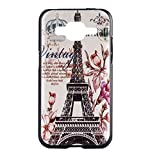For Galaxy Core Prime G360 , ivencase Retro Paris Tower Crown Style Hard Skin Protective Back Case Cover Design for Samsung Galaxy Core Prime SM-G360 + One 'ivencase ' Anti-dust Plug Stopper