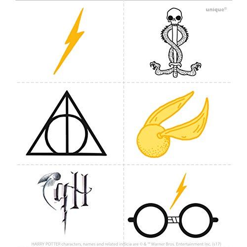 Harry Potter Tattoos, 24ct