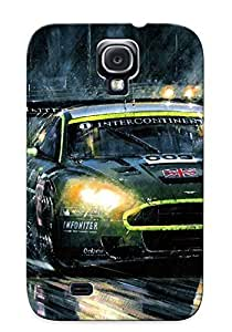 Awesome QSkTuZD5610Exnul Trolleyscribe Defender Hard Hard Case For Galaxy S4 Cover- Aston Martin Dbr9 Race Racing Gt1 Lemans (14)