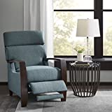 Cheap Madison Park Katniss Push Back Recliner Blue See Below