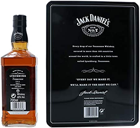 Jack Daniel's Tennessee Old No. 7 - Whiskey, 700 ml