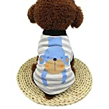 Naladoo Pet T-shirt Small Dog Cute Cartton Sweatshirt Puppy Soft Sweater Costume