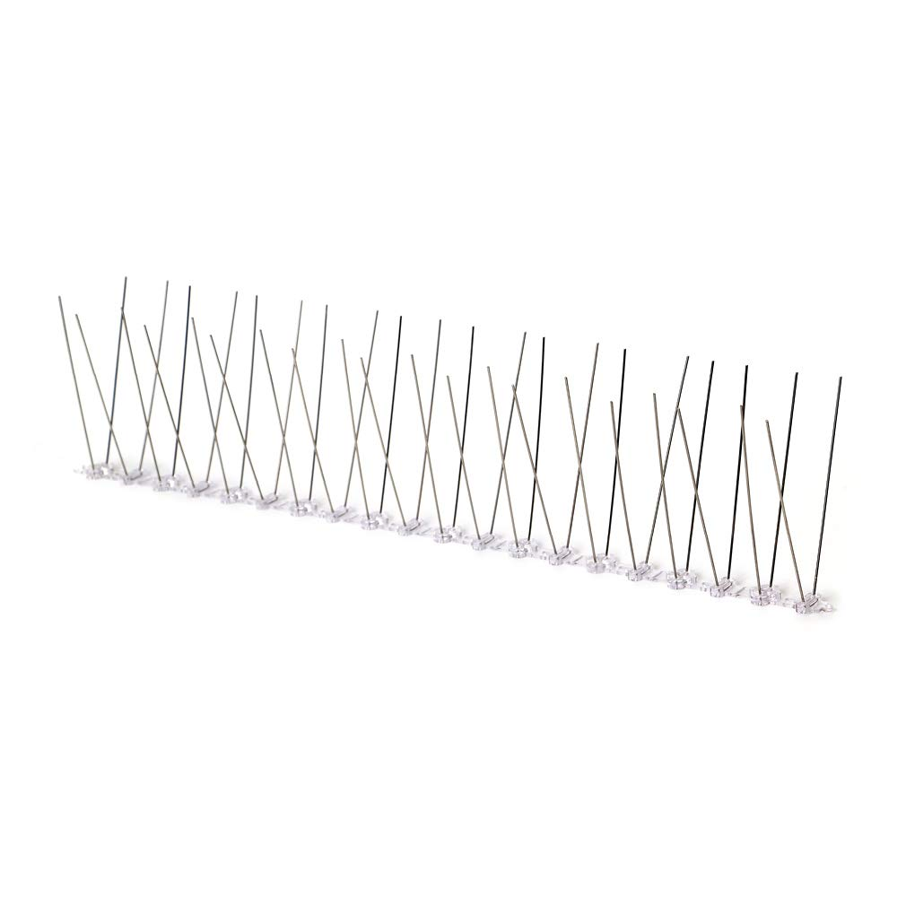 Bird Blinder Stainless Steel Bird Spikes for Pigeons and Other Small Birds 5 Feet