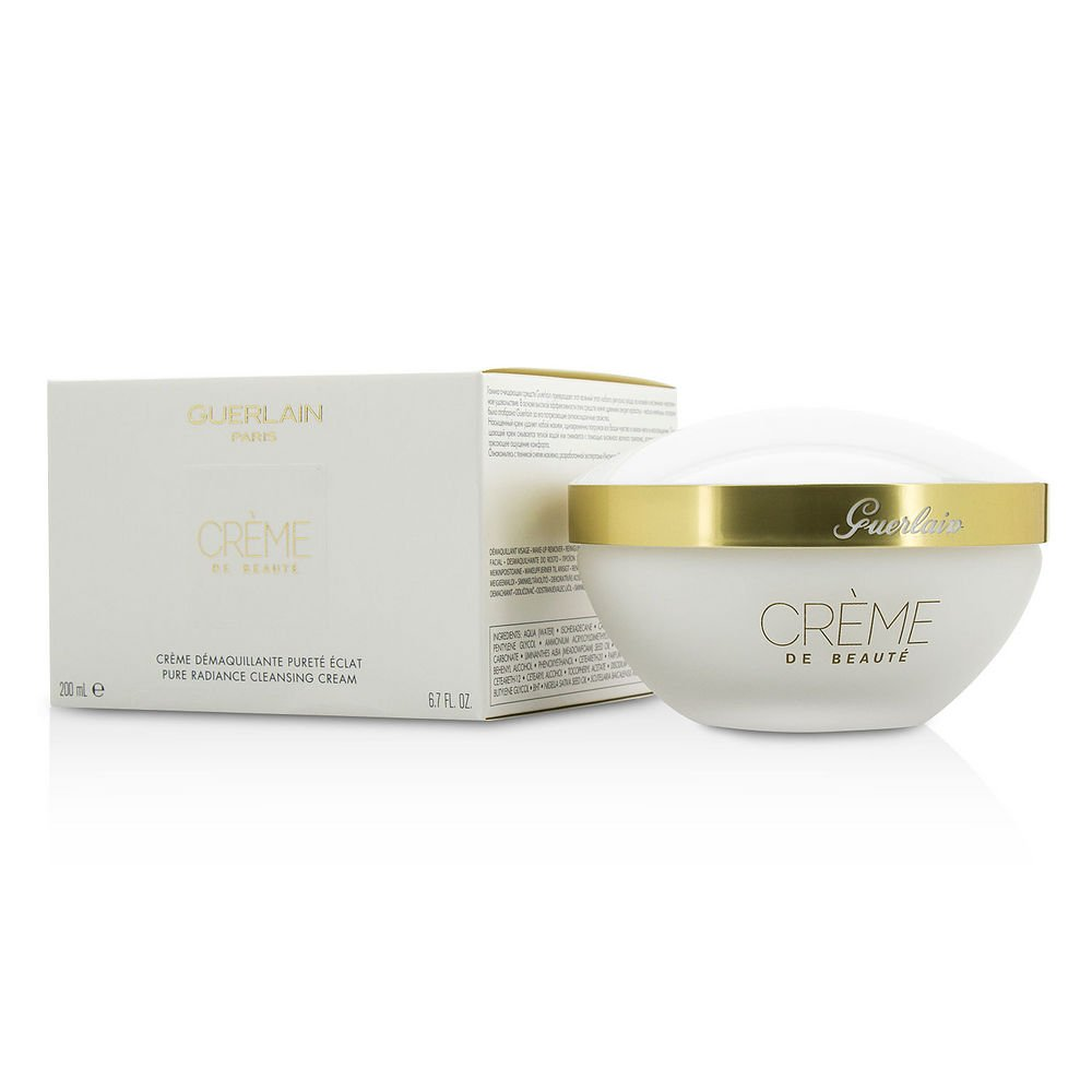GUERLAIN by Guerlain Pure Radiance Cleansing Cream - Creme De Beaute --200ml/6.7oz for WOMEN ---(Package Of 5)