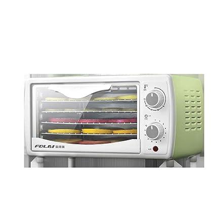 Secador de frutas, 38 ° C-78 ° C Temperatura Ajustable Sincronización Bandeja de