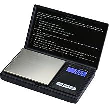 Smart Weigh SWS1KG Elite Pocket Sized Digital Scale 1000 x 0.1-Gram, Black