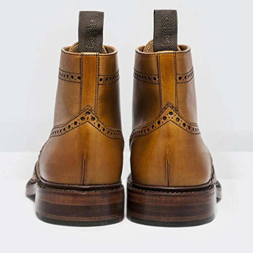 Loake Burford Tan Burinshed Calf - 43 EU