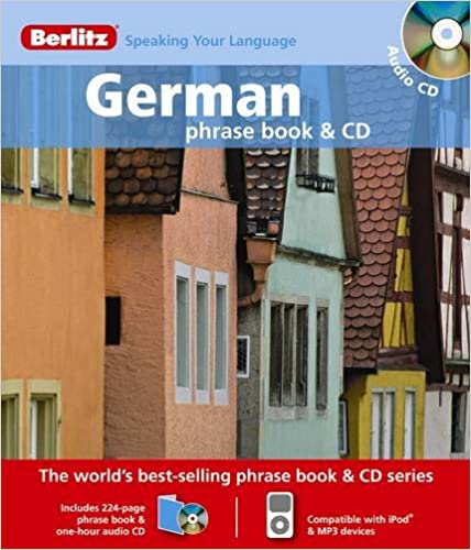Amazon com: Berlitz German Phrase Book & CD (9789812681898