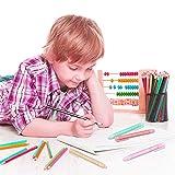 6Pcs Retractable Click Pen Style Eraser, AUHOKY