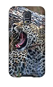 New Style MirabelShaftesbury Hard Case Cover For Galaxy S5- Leopard Animal Leopard