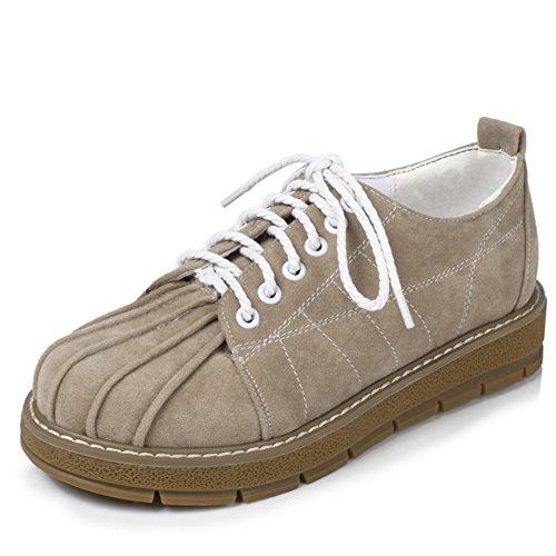 zapatos de fondo plano profundos/zapatos de corte bajo las correas del viento College A