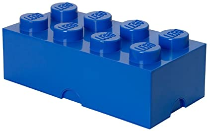 Etonnant LEGO Storage Brick 8, Blue