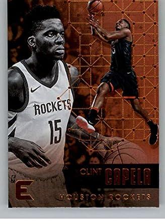 6595d6f1cd2a 2017-18 Panini Essentials  140 Clint Capela Houston Rockets NBA Basketball  Card