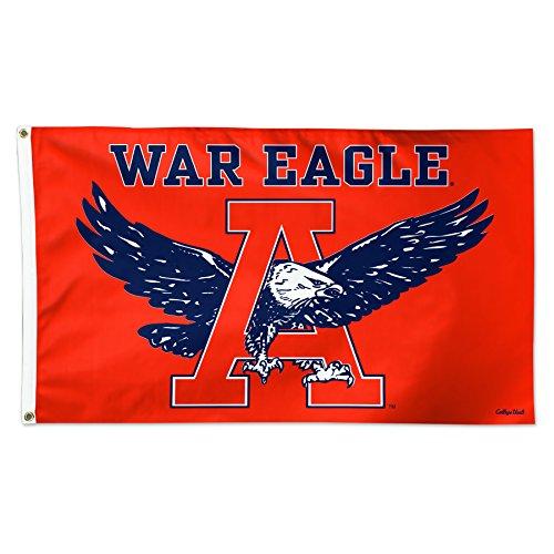 (Wincraft Auburn Tigers War Eagle Orange NCAA Football 3 x 5 Foot Flag)