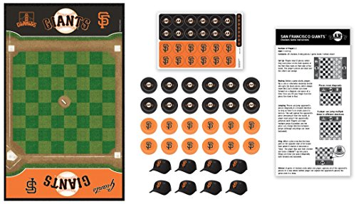 (MasterPieces MLB San Francisco Giants Checkers Board Game)