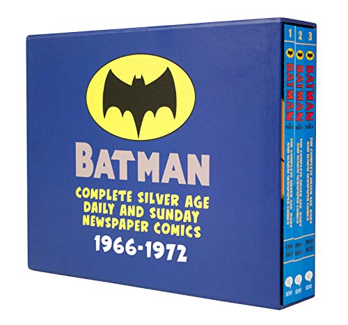 Batman: The Complete Silver Age Newspaper Comics Slipcase Set (Batman Newspaper Comics) ()
